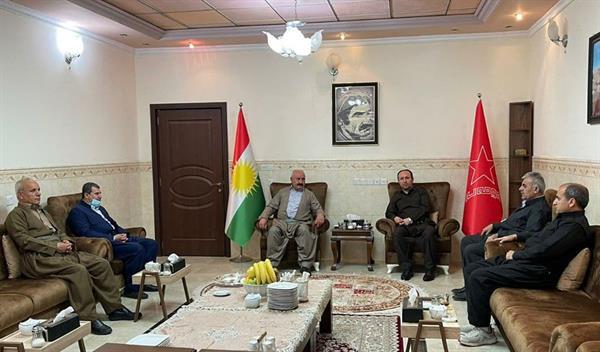 دیداری نێوان کۆمەڵە پارتی كرێكاران و رهنجدهرانی كوردستان