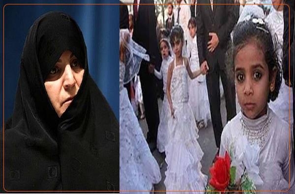 نوێنەرێکی ژنی مەجلیسی کۆماری ئیسلامی؛ منداڵ هاوسەری لە ئێران پرسێکی گرنگ نیە و لە ڕووانگەی ئێمەوە کێشەی نییە!
