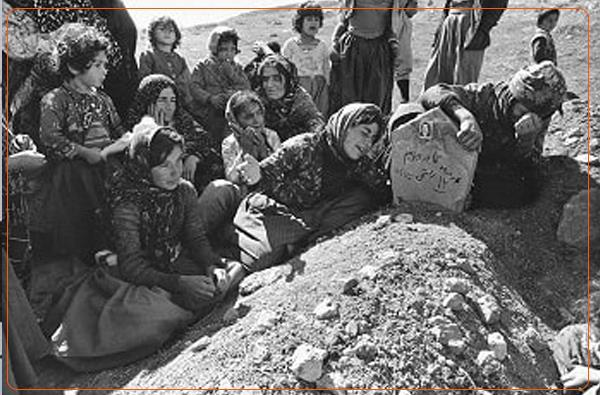 """یادی ٤٠ ساڵەی کۆمەڵکوژی """"قاڕنێ"""" بە دەستی جینایەتکارانی کۆماری ئیسلامی"""
