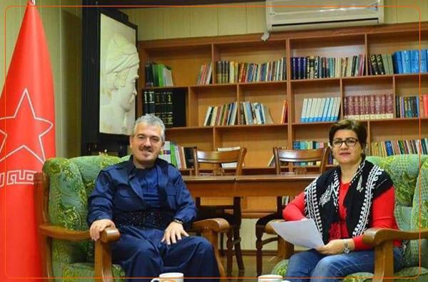 هاوڕێ ئەردەڵان فەرەجی؛ گرنگی پێدان بە پرسی ژنان لە کوردستان، بە هاتنە سەر شانۆیی سیاسی کۆمەڵەوە دەست پێ دەکات!