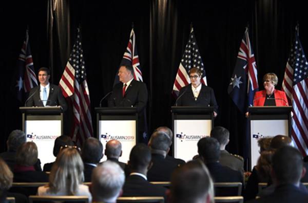 داواکاری پەمپێئۆ؛ ئۆسترالیا بە هاوپەیمانی سەربازی تەنگەی هۆرمز پەیوەست بێت
